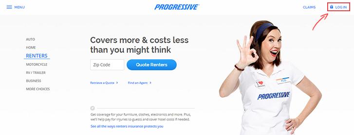 Progressive Renters Insurance Login | Make a Payment