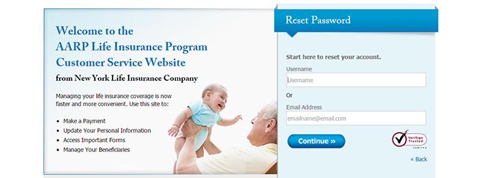 AARP Life Insurance Login